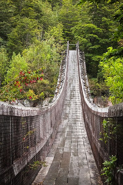 Séjour au Chili dans le splendide parc national de Queulat